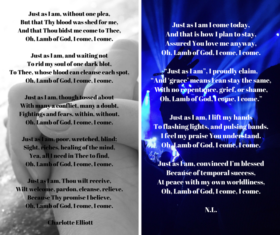 Lyric just as i am without one plea lyrics : Just As I Am – Repentant Response or Defiant Declaration ...