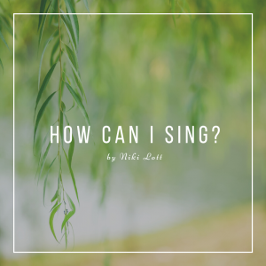 How Can I Sing? Sheet Music Cover Image