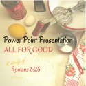 All for Good PowerPoint Presentation